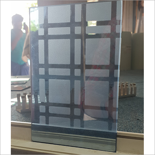 Transparent Checked Glass