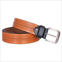 Tan Leather Fashion Belt