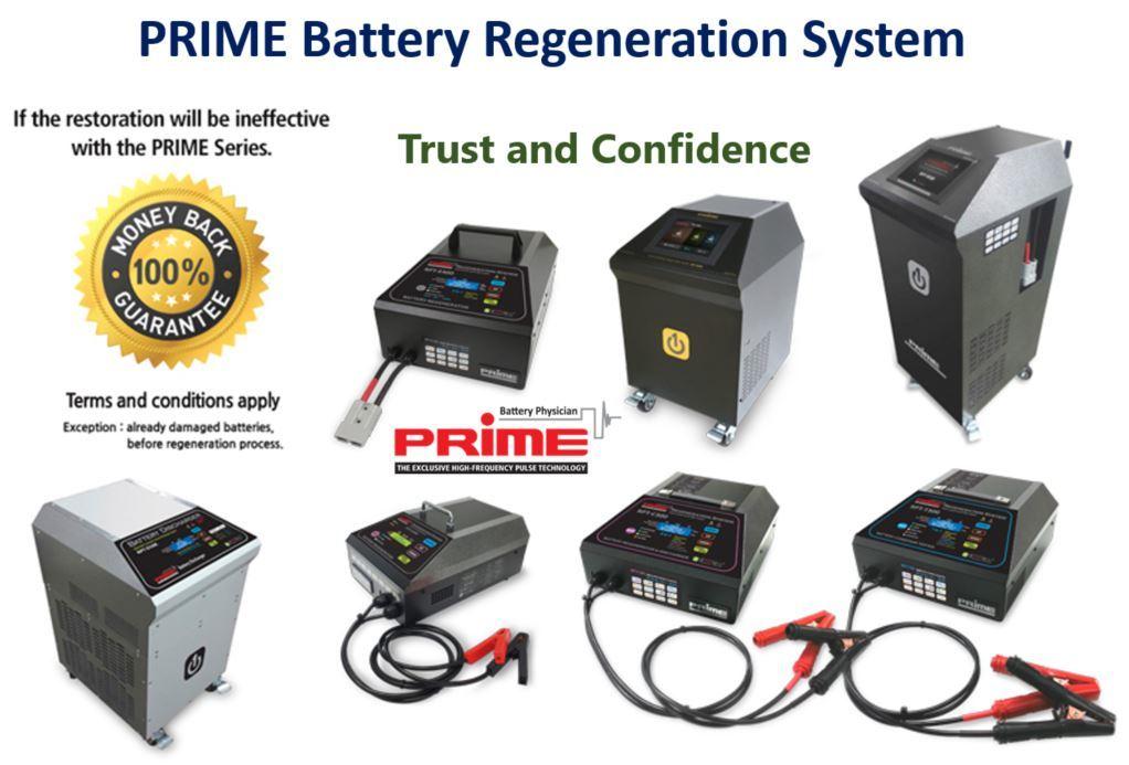 RPT-C300 PRIME Battery Regenerator (6-in-1)