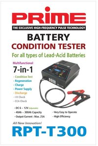 RPT-T300 Battery Condition Tester & Regenerator (7-in-1)