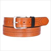 Tan Leather Fashion Belt