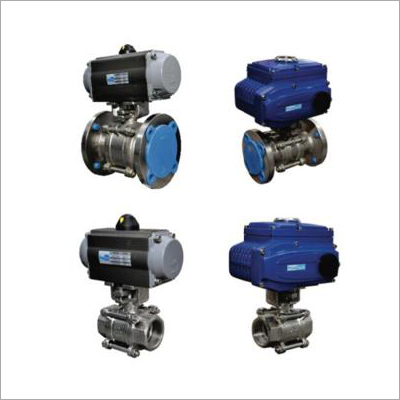 Pneumatic-Electric Actuator Operated Ball Valve