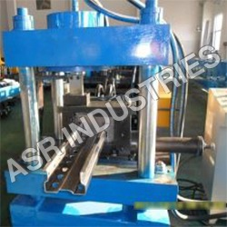Upright Channel Forming Machine