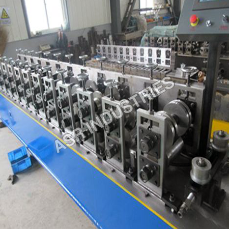 Shutter Side Channel Forming Machine