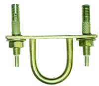 MS Hook With Double Anchor Fasteners