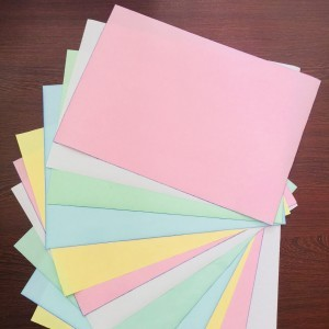 80gsm chemical paper No Carbon Cheaper Copy Paper wit good price