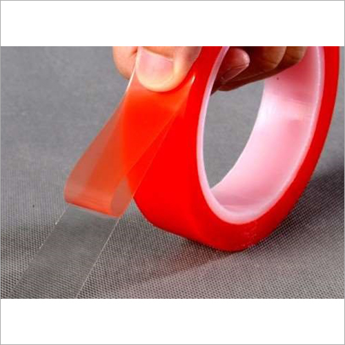 High Quality Double Sided  Red Polyester Tape