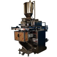 Multitrack Pouch Packing Machine for Liquid
