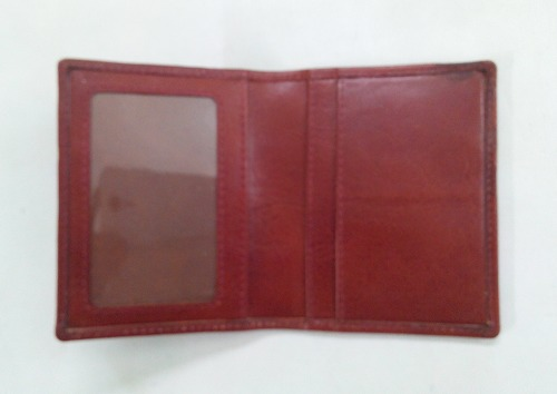 Canvas Leather Card Case