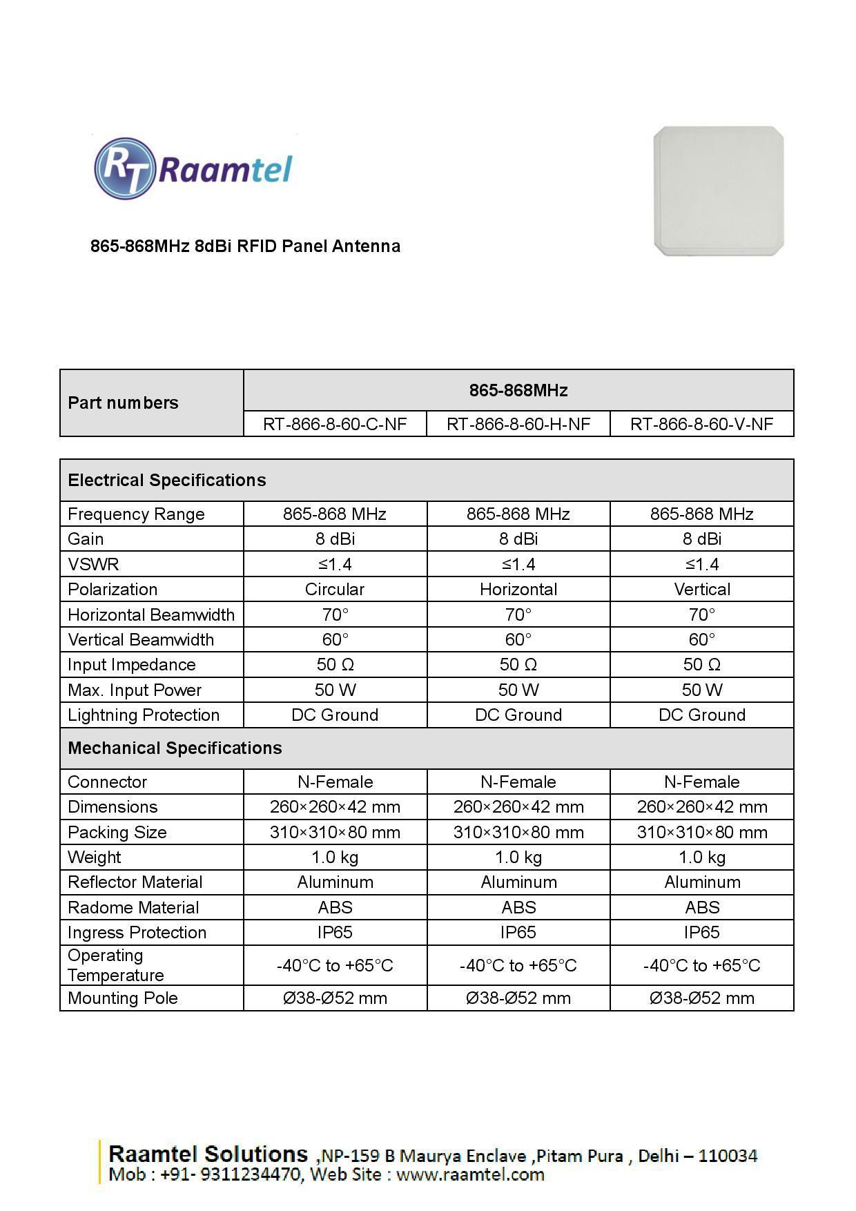 UHF RFID Antenna