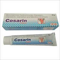 Glucosamine Hydrochloride, Diacerein, Capsaicin, Camphor and Menthol Ointment