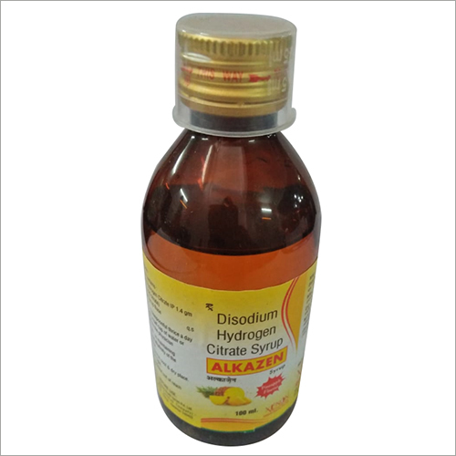 Disodium Hydrogen Citrate Syrup