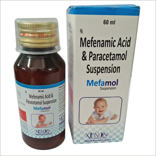 Mefenamic Acid And Paracetamol Suspension