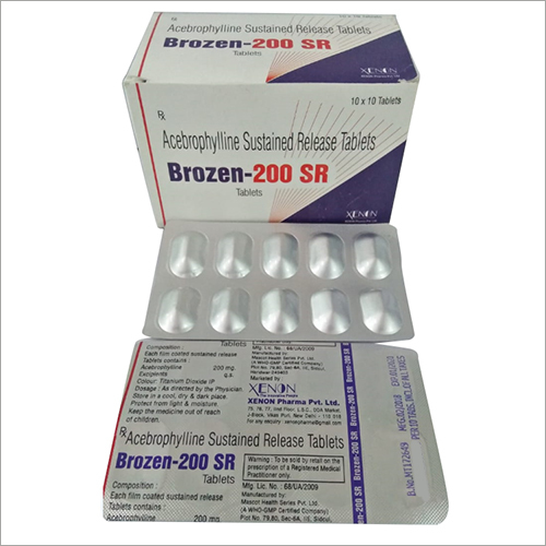 Acebrophyline Tablets