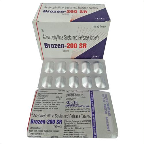 Acebrophyline Tablets