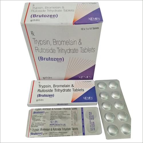 Trypsin Bromelain Tablets