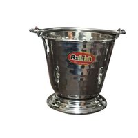 SS Hammered Bucket