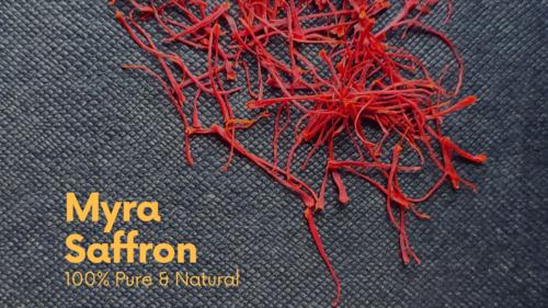 Myra Saffron Certifications: Fssai