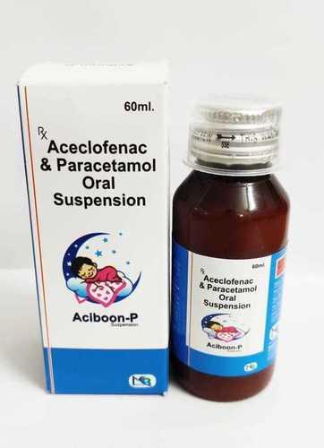 Aceclofenac 50 mg+ paracetamol 125 mg.