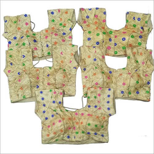Ladies Embroidered Saree Blouse