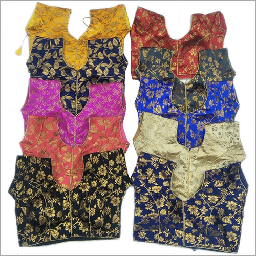 Ladies Multi Color Saree Blouse