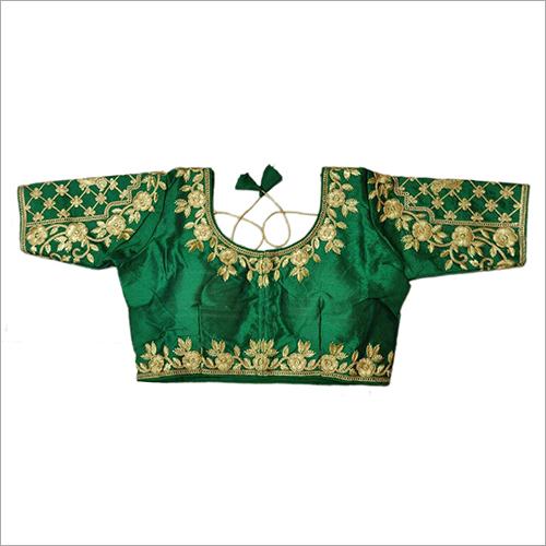 Green Lehenga Blouse