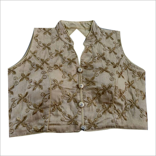 Ladies Sleeveless Saree Blouse