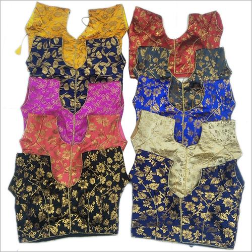 Ladies Multi Color Saree Blouse