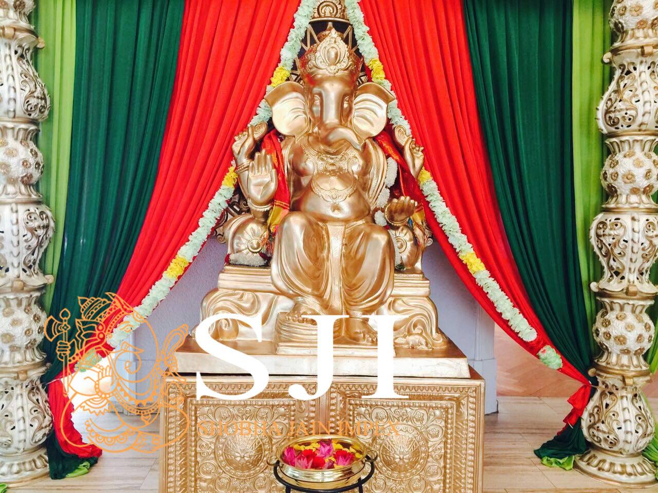 Ganeshji Statue Set