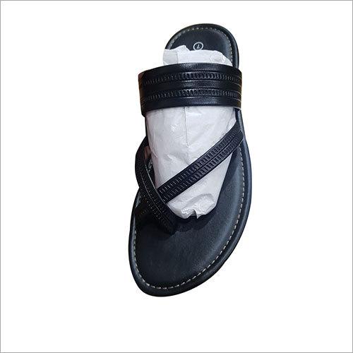 Mens PU Leather Slipper Upper Straps