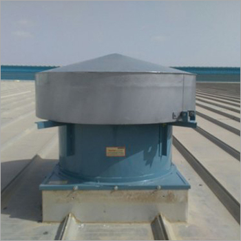 Roof Mounted Motorized Exhaust Fan