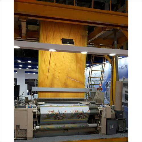 Airjet With 5376 Hook Electronic Jacquard Loom Machine