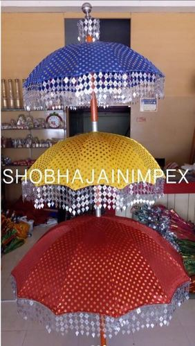 Muthukuda Umbrellas on Stands