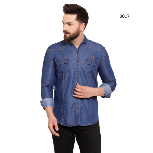 Men Denim Shirt