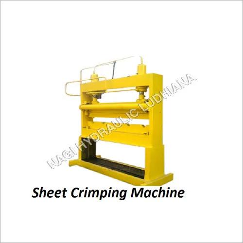 Sheet Crimping Machine