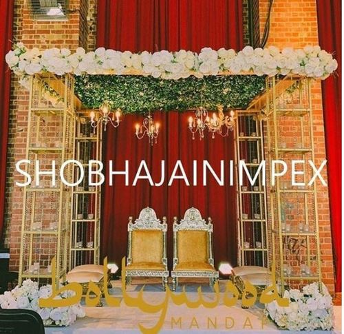 Traditional Wedding Mandap Chairs