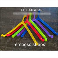 Embossed Slipper Straps