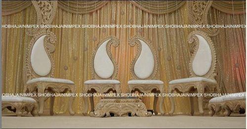 Paisley Wedding Mandap Chairs