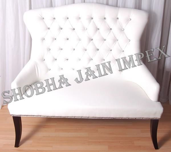 Back Quilted Sofa