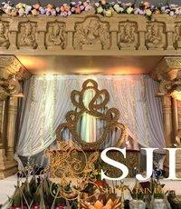 South Indian Wedding Mandap