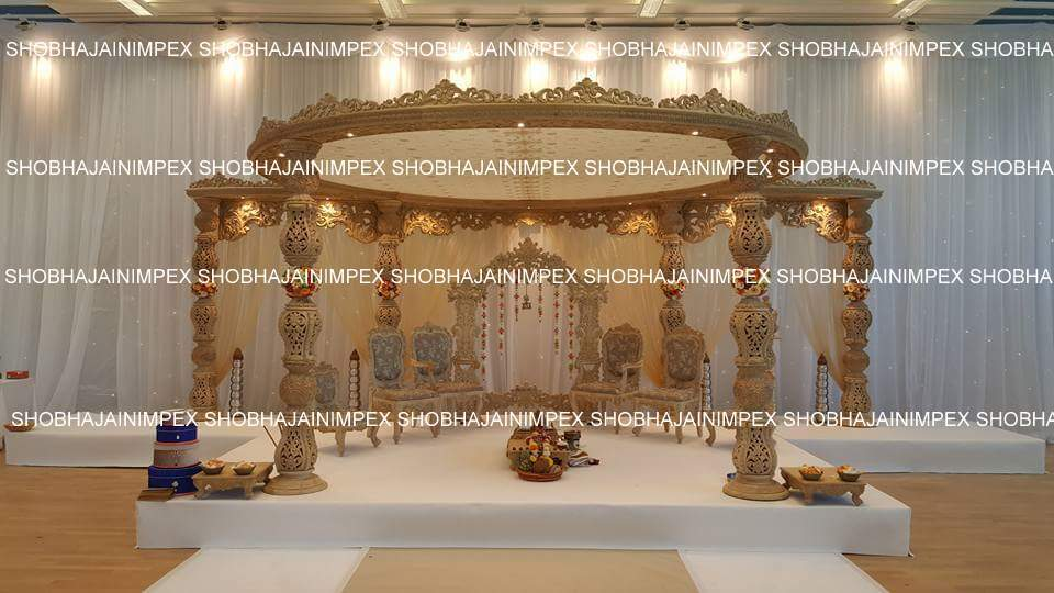 Aneri Jali Wedding Mandap