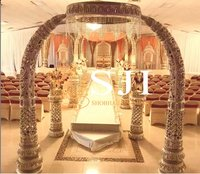 Elephant Tusk Wedding Mandap