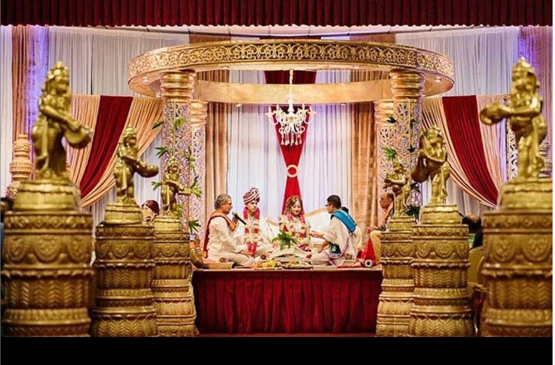 Jali Wedding Mandap