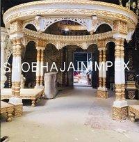 Raj Mahal Double Pole Wedding Mandap