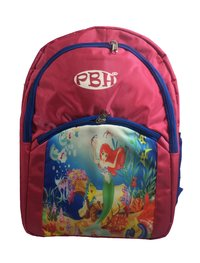 PBH Unisex Non BREAKABLE Picture RAIN Cover and Washable P009 Backpack