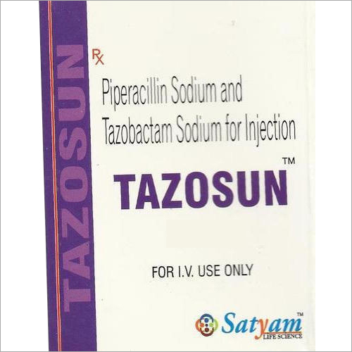 Piperacillin Sodium And Tazobactam Sodium Injection