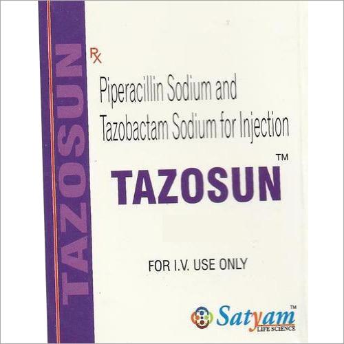 Piperacillin Sodium And Tazobactam Sodium Injection