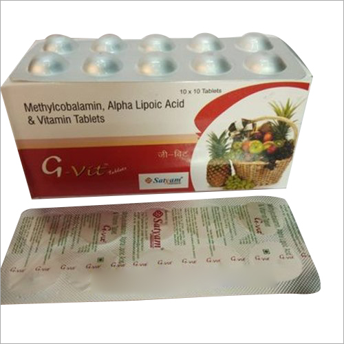 Methycobalamin Alpha Lipoic Acid And Vitamin Tablet