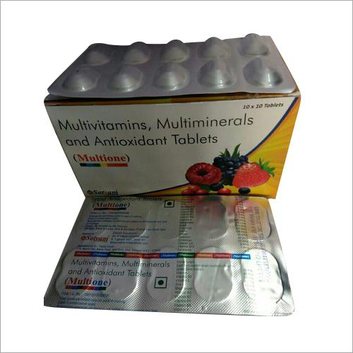 Multivitamins Multiminerals And Antioxidant Tablet