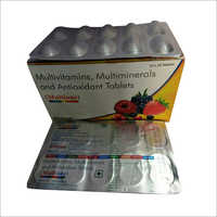 Multivitamins Multiminerals And Antioxidant Tablet